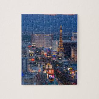 Las Vegas Strip Jigsaw Puzzle