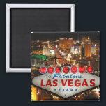 """Las Vegas Strip Magnet<br><div class=""""desc"""">Las Vegas Strip with Welcome sign</div>"""