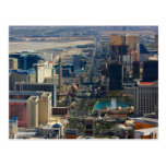 Las Vegas Strip Nevada Photo Post Card