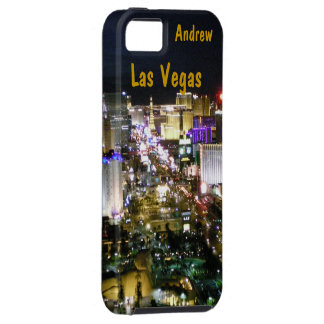 Las Vegas Strip Night Aerial View iPhone SE/5/5s Case