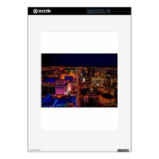 Las Vegas Strip Night Vacation iPad Skins