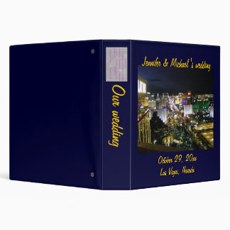 Las Vegas Strip Photo Album Vinyl Binder