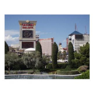 Las Vegas Strip postcard.