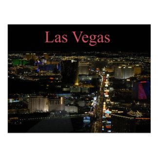 Las Vegas strip Postcard