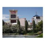 Las Vegas Strip postcard. Postcard