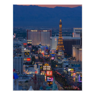Las Vegas Strip Poster