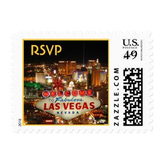 Las Vegas Strip RSVP Postage