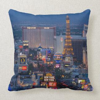 Las Vegas Strip Throw Pillows