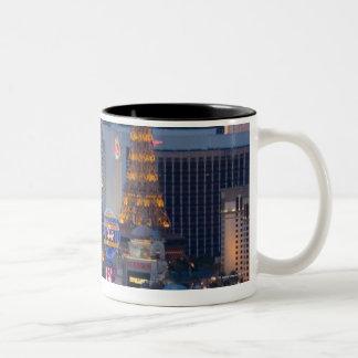 Las Vegas Strip Two-Tone Coffee Mug