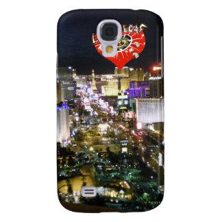 Las Vegas Strip View Gambling Heart Samsung Galaxy S4 Cover