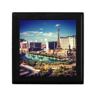 Las Vegas Strip View Keepsake Box