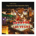 Las Vegas Style Bachelorette Party Custom Invitations