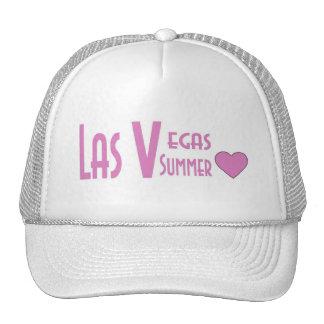 Las Vegas Summer Love Pink/White Cap! Trucker Hat