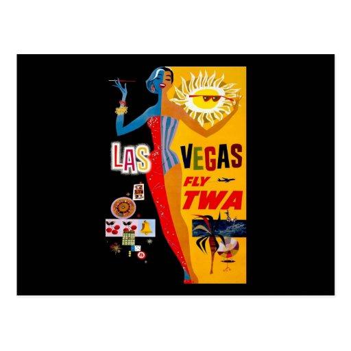 Las Vegas Tarjeta Postal
