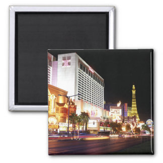 Las Vegas The Strip 2 Inch Square Magnet