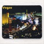 Las Vegas The Strip at night Mouse Pad