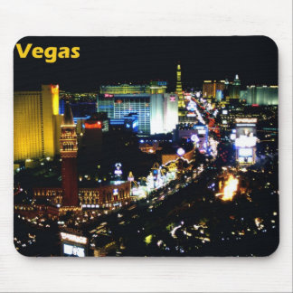 Las Vegas The Strip at night Mouse Pad