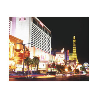 Las Vegas The Strip Canvas Print