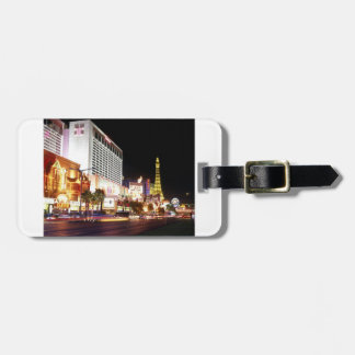 LAS VEGAS THE STRIP LUGGAGE TAG