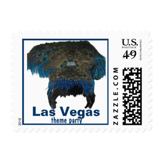 Las Vegas theme party Postage