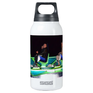 Las Vegas Thrill Ride At Night Thermos Bottle