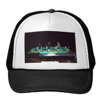 Las Vegas Thrill Ride At Night Trucker Hat
