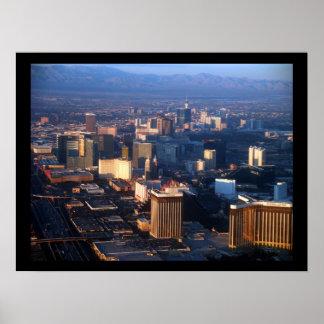 Las Vegas tira diciembre de 2011 Póster