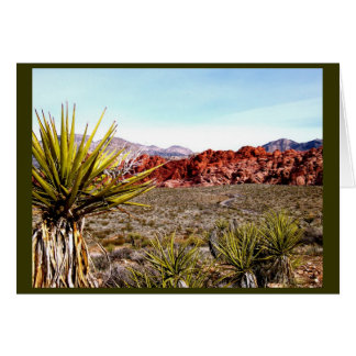 Las Vegas Tours: Red Rock Canyon Stationery Note Card