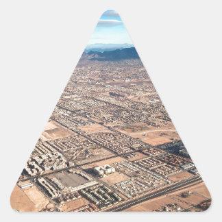Las Vegas Triangle Sticker