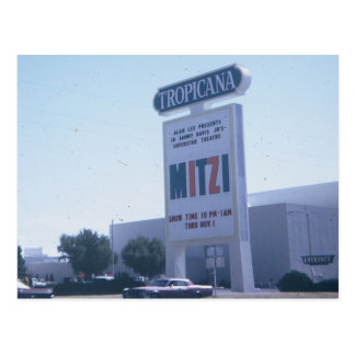 Las Vegas Tropicana Hotel Postcard