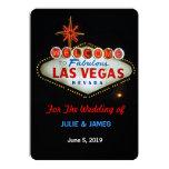 Las Vegas único que casa la invitación formal Invitación 12,7 X 17,8 Cm