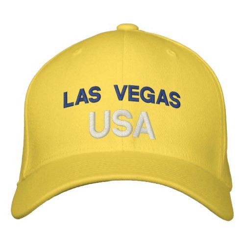 Las Vegas USA Embroidered Baseball Hat
