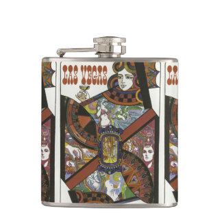 Las Vegas USA Vintage Travel flask