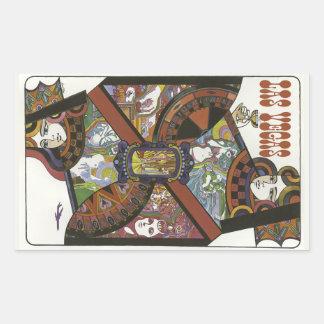 Las Vegas USA Vintage Travel stickers