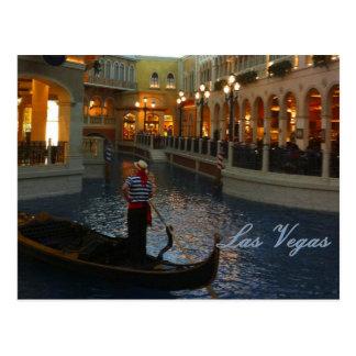 Las Vegas Venetian Canal Postcard