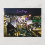 Las Vegas View postcard