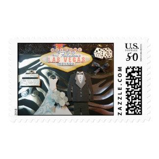 Las Vegas Wedding 2013 Postage stamps