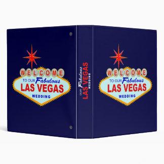 Las Vegas Wedding Album 3 Ring Binder