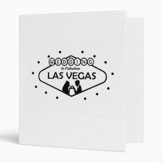 Las Vegas Wedding Album Vinyl Binders