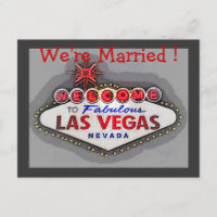 Las Vegas Wedding Announcement