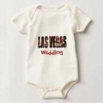 Las Vegas Wedding Baby Bodysuit