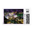 Las Vegas Wedding Bride and Groom stamp