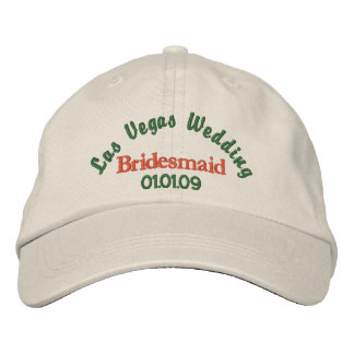 Las Vegas Wedding - Bridesmaid Embroidered Baseball Cap