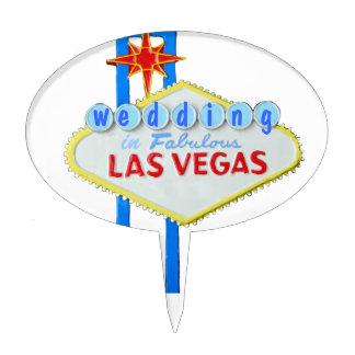 Las Vegas Wedding Cake Pick