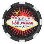 Las Vegas Wedding Casino Chip Poker Chip Set