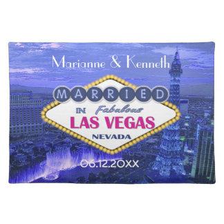 Las Vegas Wedding Cloth Placemat