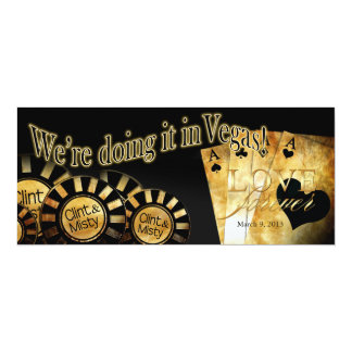 Las Vegas Wedding (contact me to personalize 4u) Invite