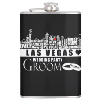 Las Vegas Wedding Gift Ideas - Groom Flask