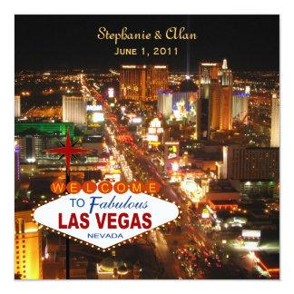 Las Vegas Wedding Invitation