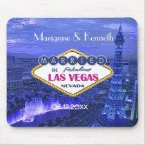 Las Vegas Wedding Keepsake Mousepad